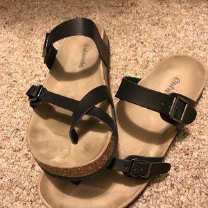 ef0dcd30c275 Outwoods Shoes - Outwoods Black Birkenstock inspired Sandals